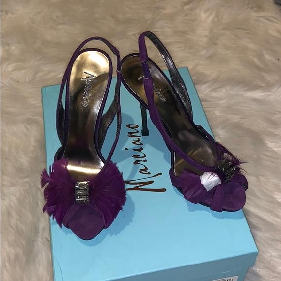 Plum Purple Heels